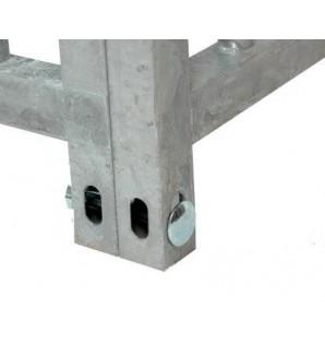 grille barreau espace 8 cm / 1m