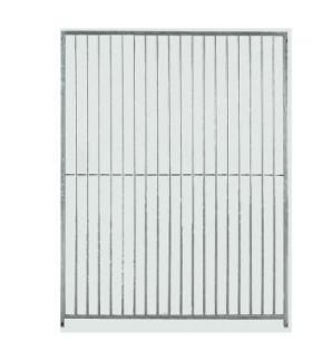grille barreau espace 8cm / 2m