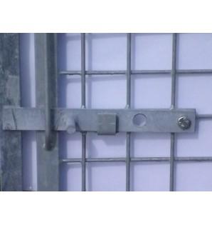 Treillis 5 x 5 cm  / 1m avec porte