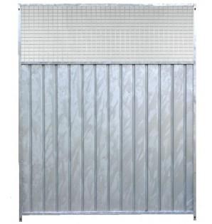 Tôle+grille 5x5 cm/2m