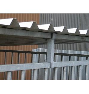 toiture standard pour chenil 2m x 2m